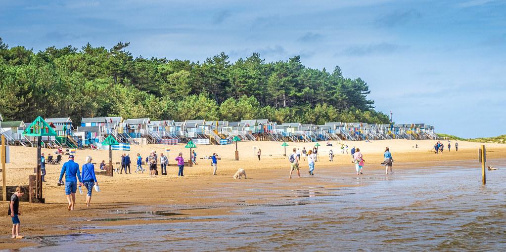 Beach Huts at Wells-next-the Sea