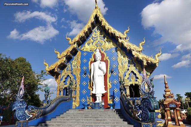 chiang rai blue temple thailand