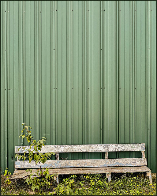 shipyard bench