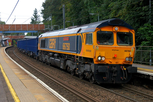 The Rush: 66750 4M04 Stansted Mountfitchet 20/09/21