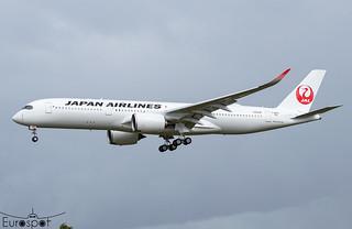 F-WZFS / JA13XJ Airbus A350-941 Japan Airlines s/n 538 - First flight * Toulouse Blagnac 2021 *