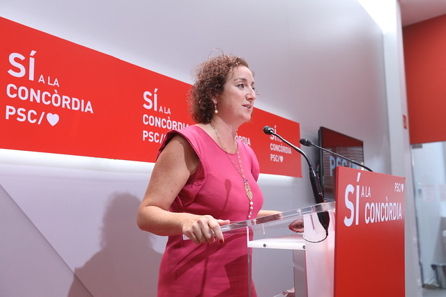 Rueda de prensa Alicia Romero