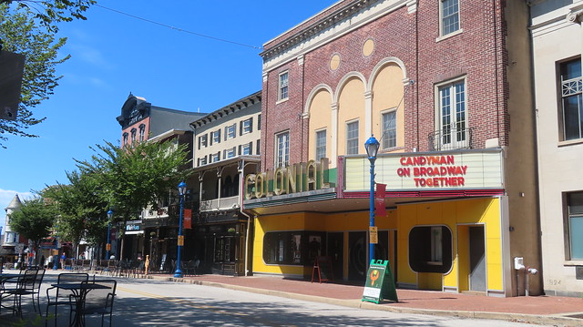 Ok, movie experts. Why is this old movie theater in the small town of Phoenixville, Pennsylvania, famous?