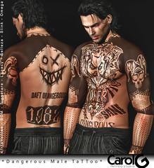 Dangerous Male TaTToo [CAROL G] Poster