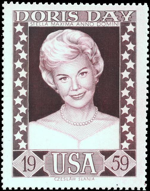 Doris Day 1959 by Czesław Słania