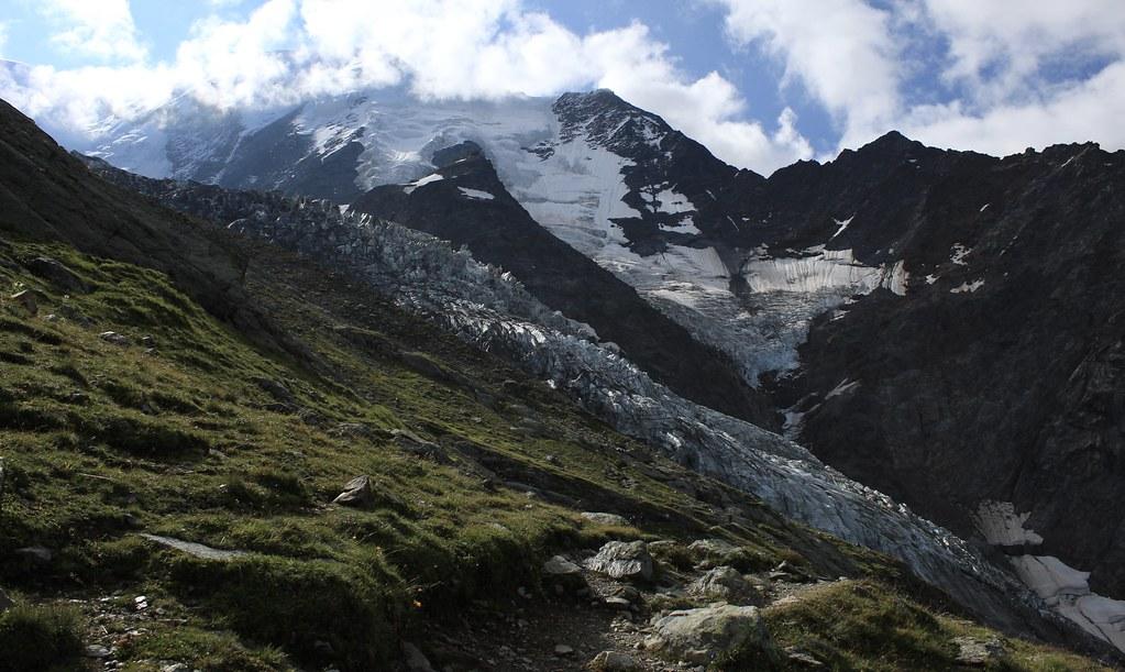 Aiguille et glacier de Bionnassay