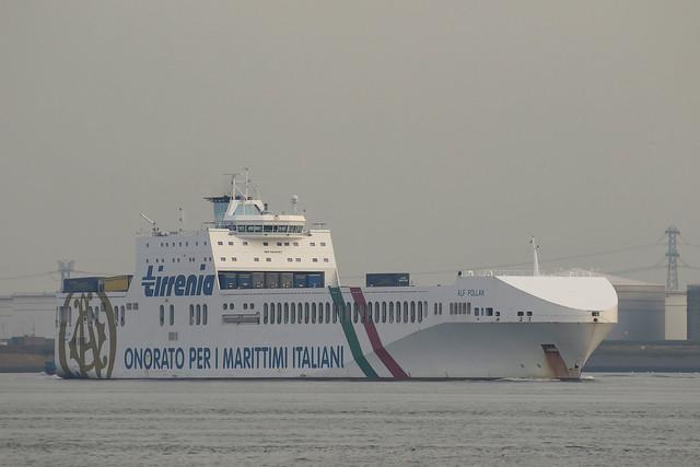 ALF POLLAK  Ro-Ro Cargo - Calandkanaal - Maasvlakte