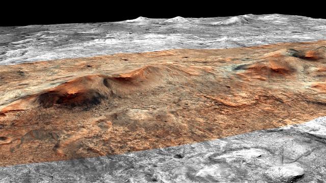 HiRISE (NASA) 3D Model : PSP_008245_2045