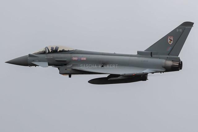 Typhoon FGR.4 ZJ916/916 29(R) Sqn