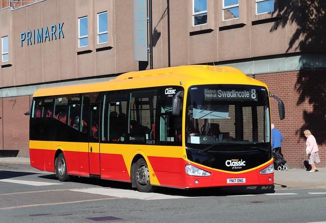 YN17ONG Scania K250UB4/Irizar - Midland Classic