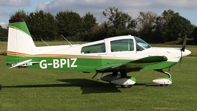 G-BPIZ Gulfstream AA-5B