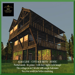 Cottage Betty Rustic W