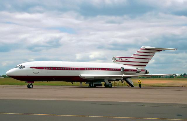 VR-CMN Boeing 727-46 'IDG Ltd'