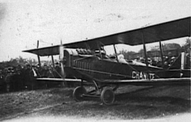 Charles Leonard's Plane Crash, April 29, 1921