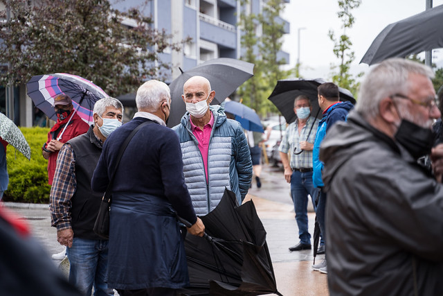 Pentsionistak Manifestazioa Berango