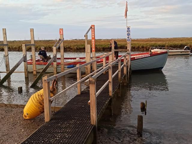 Morston Quay and Blakeney Point