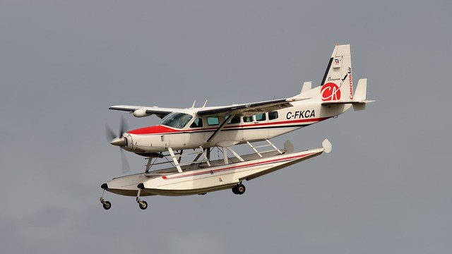 Cameron Air Cessna 208 Caravan I float plane, C-FKCA - Muskoka Airport, Gravenhurst, Ontario