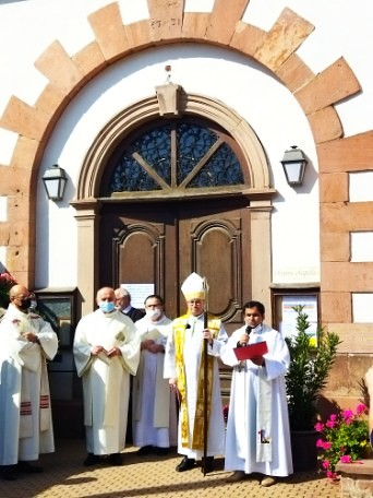 Inauguration de la chapelle ND des Trois Épis