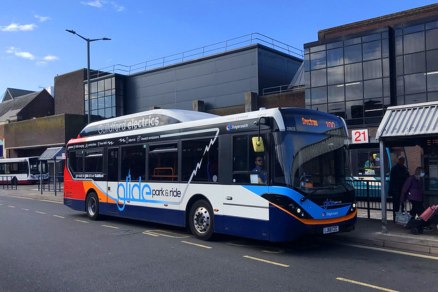 LZ68 CZC, Guildford Bus Station, September 20th 2021
