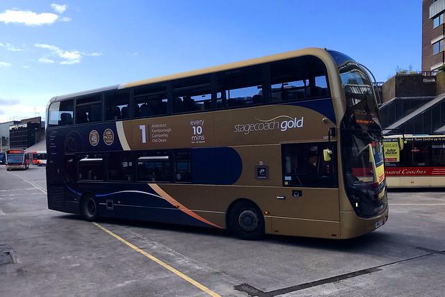 YN66 VYF, Guildford Bus Station, September 20th 2021