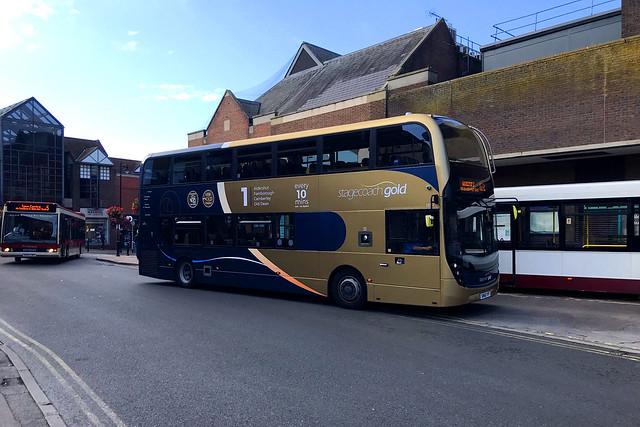 YN66 VYM, Guildford Bus Station, September 20th 2021