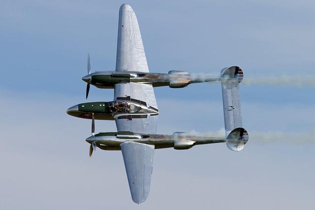 Lockheed P-38 L Lightning - 44-53254/N25Y   Melun Villaroche [LFPM]