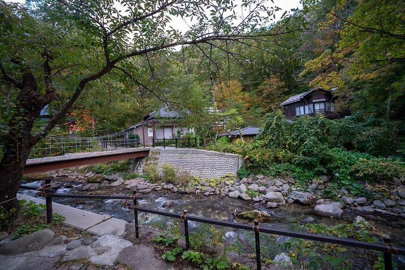 青荷温泉の川