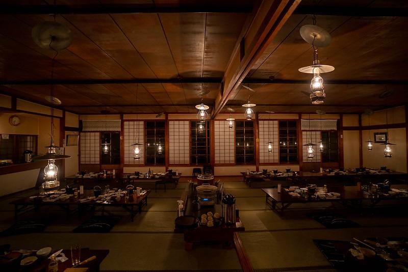 青荷温泉の食卓