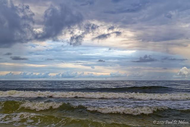 _PDN3692_Daybreak Gulf of Mexico; Navarre Beach, Florida