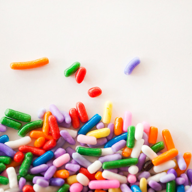 rainbow sprinkles- Jackie Alpers food photography