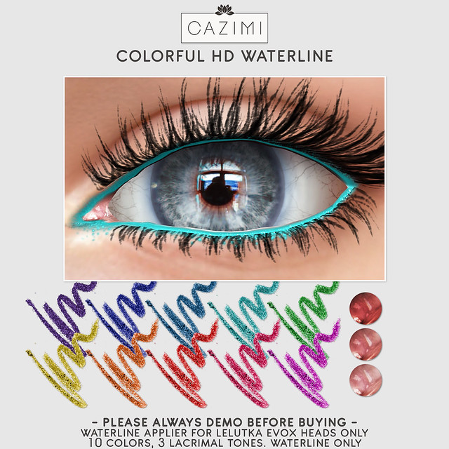 Colorful HD Waterline @ Shiny Shabby