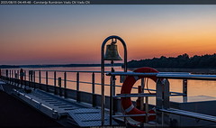 Dawn on the upper deck