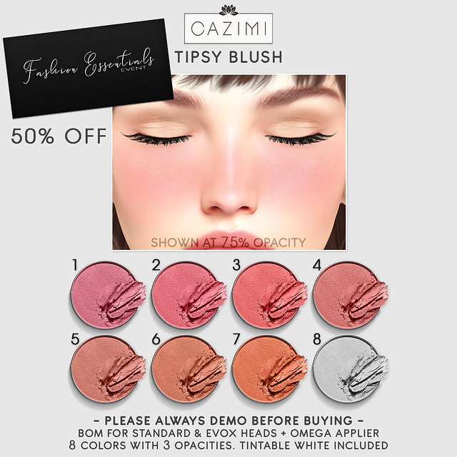 Tipsy Blush 50% off @ Fashion Essentials