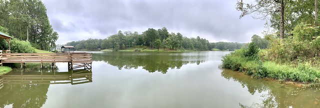 From the boat dock on Indian Lake.