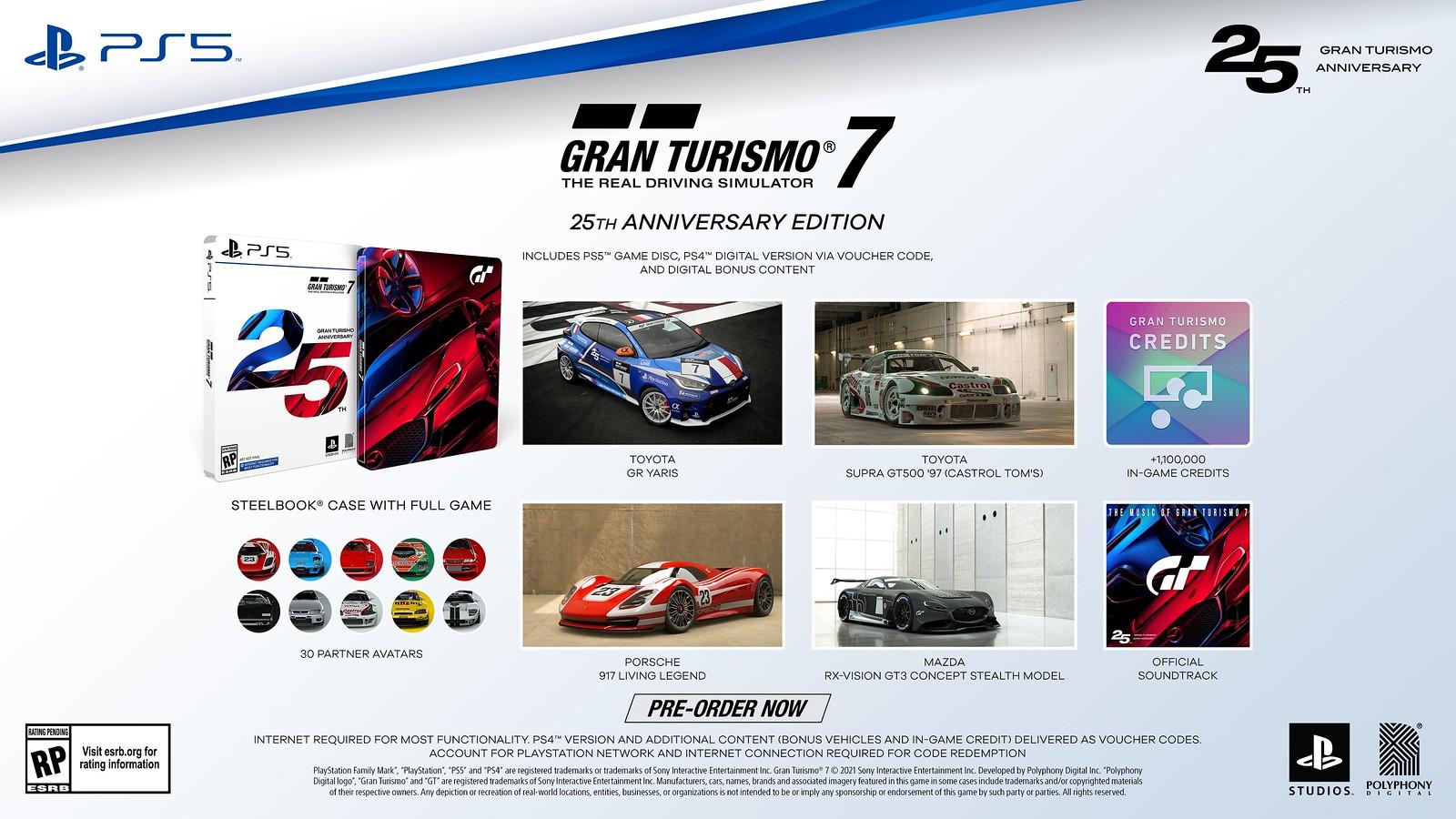 Gran Turismo 7 25th Anniversary