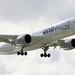 Qatar Airways A350-900 A7-ALZ landing HKG/VHHH