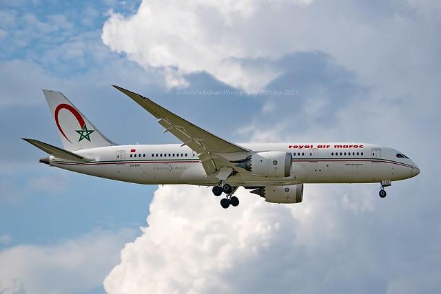Royal Air Maroc CN-RGT Boeing 787-8 Dreamliner cn/35509-457 @ LFPO / ORY 05-09-2021