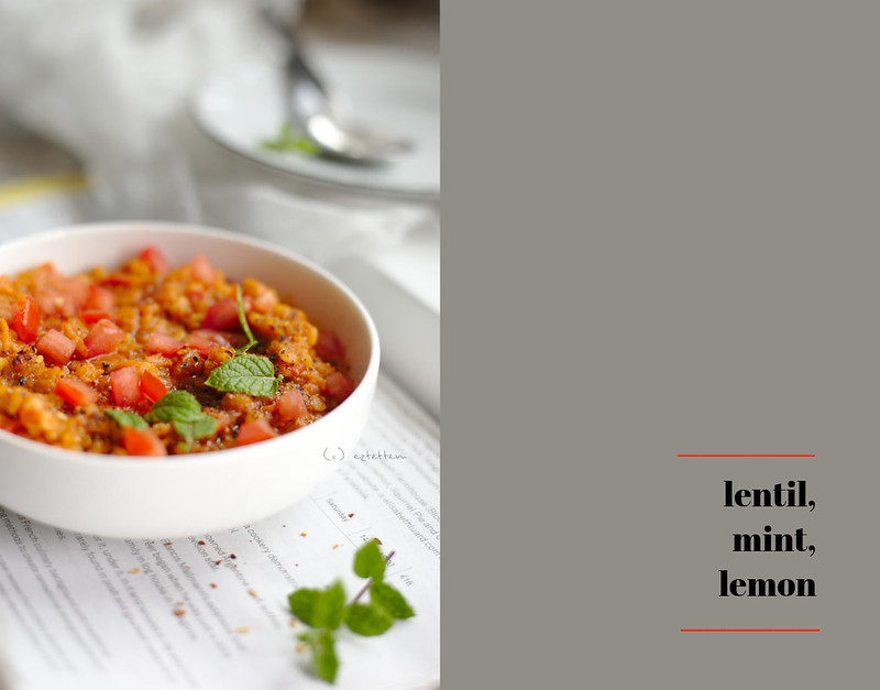 Red Lentil Soup With Mint And Lemon