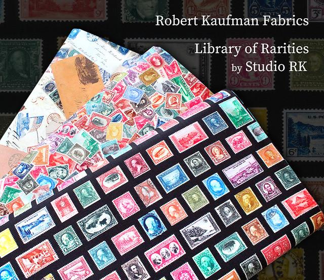Robert Kaufman Fabrics Library of Rarities by Studio RK