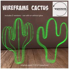 Widdershins - Wireframe Cactus
