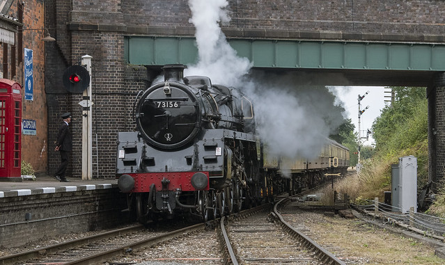73156 at  Quorn and Woodhouse Station