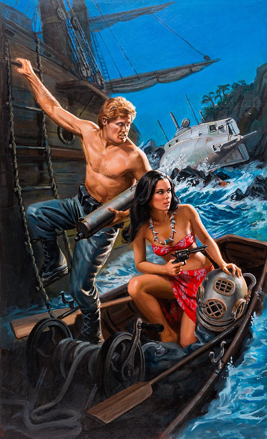 Renegade #25: High Sea Showdown by Ramsay Thorne, 1984, cover art uncredited