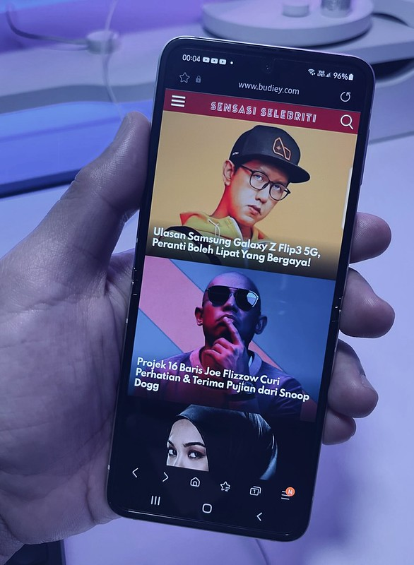 Ulasan Samsung Galaxy Z Flip3 5G, Peranti Boleh Lipat Yang Bergaya!