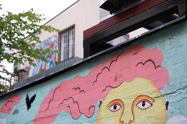 Helsinki streets, street art