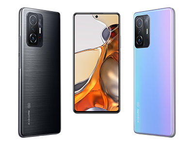 Both the Xiaomi 11T Pro and Xiaomi 11T come in 3 colors with a brushed finish including Meteorite Gray, Moonlight White, and Celestial Blue.