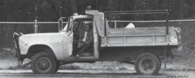 Croton-on-Hudson, NY Croton-Harmon Union Free School District, 1980 - (early) 1970's International 1310 4x4 dump truck