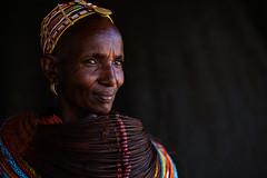 Rendille lady - Kenya