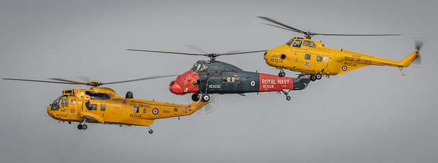 Sea King, Wessex & Whirlwind