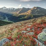 Autumn Sunrise in the Alps