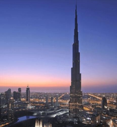 Burj Khaifa Hotel nel Burj Khalifa